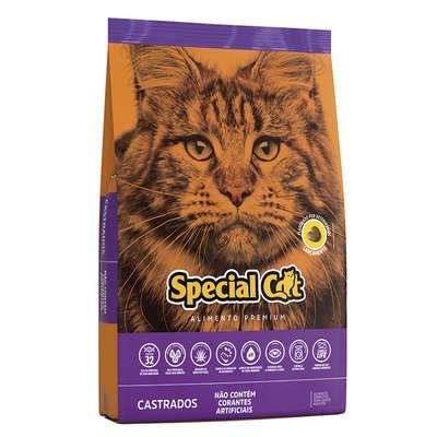 Ração Special Cat para Gatos Adultos Castrados 1kg