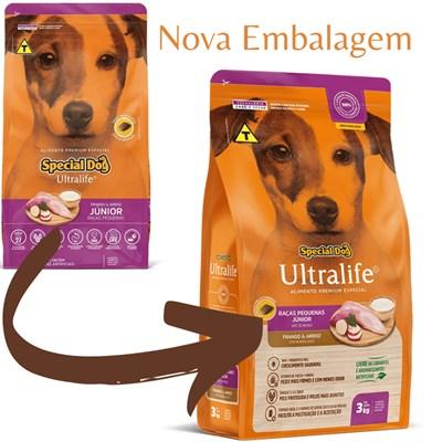 Ração Special Dog Ultralife Júnior raças pequenas 15kg