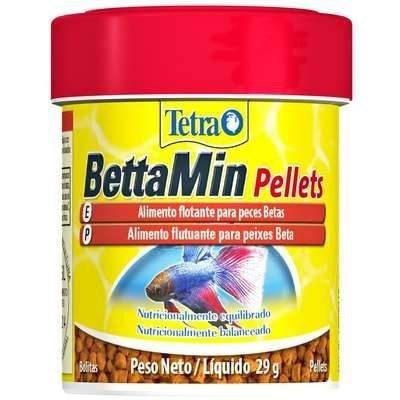 Ração Tetra Bettamin Pellets 29gr
