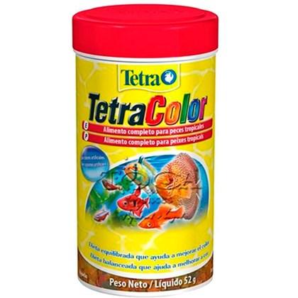 Ração Tetra Color Flakes para Peixe em Flocos 250ml