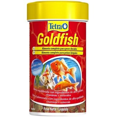 Ração Tetra Goldfish Flakes para Peixes Kinguios e Carpas 100ml