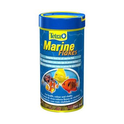 Ração Tetra Marine Flakes em Flocos para Peixes Marinhos 52g
