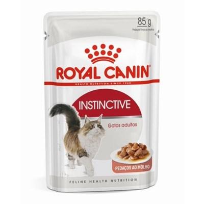Ração Úmida Sachê Royal Canin Instinctive para Gatos Adultos 85g