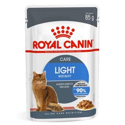 Ração Úmida Sachê Royal Canin Ultra Light para Gatos Adultos 85g
