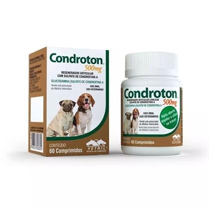 Regenerador Articular Condroton para Cães com 60 Comprimidos 500mg