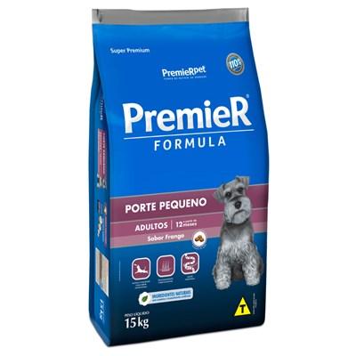 RRação PremieR Formula cachorros adultos raças pequenas frango 15,0kg