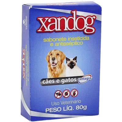 Sabonete Xandog Inseticida para Cães e Gatos 80gr