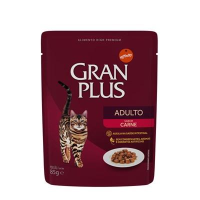 Sachê GranPlus Menu gatos adultos carne 85gr