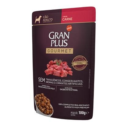 Sachê Granplus para Cães Adultos Carne 100gr