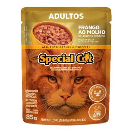 Sachê Special Cat para Gatos Adultos Frango 85gr