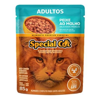 Sachê Special Cat para Gatos Adultos Peixe 85gr