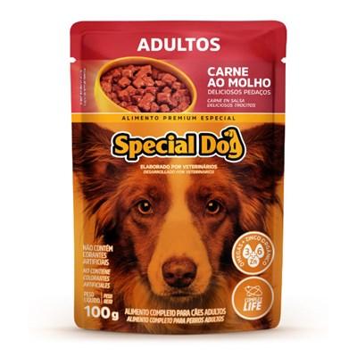 Sachê Special Dog para Cães Adultos Carne 100gr