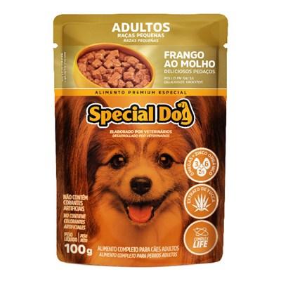 Sachê Special Dog para Cães Adultos de Raças Pequenas Frango 100gr