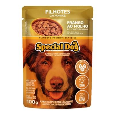 Sachê Special Dog para Cães Filhotes Frango 100g
