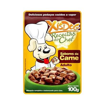 Sachê Xisdog Receitas do Chef Sabores da Carne 100gr