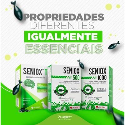 Seniox T suplemento para cachorros 30 capsulas