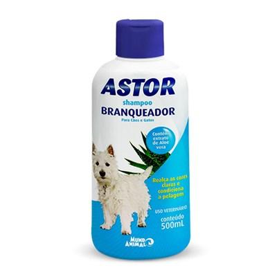 Shampoo Astor Branqueador para Cães 500ml