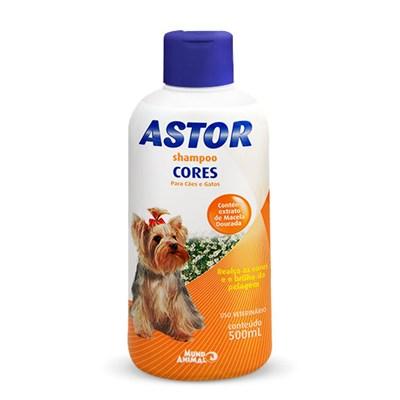 Shampoo Astor Cores para Cães 500ml
