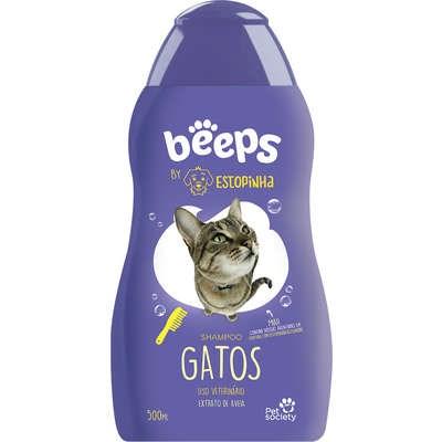 Shampoo Beeps Estopinha para Gatos 500ml