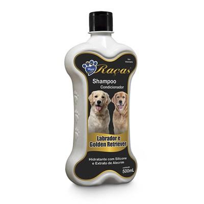 Shampoo e Condicionador World para Labrador  Golden Retriever 500ml