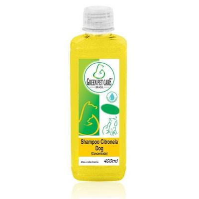 Shampoo Green Pet Citronela para Cães e Gatos 400ml