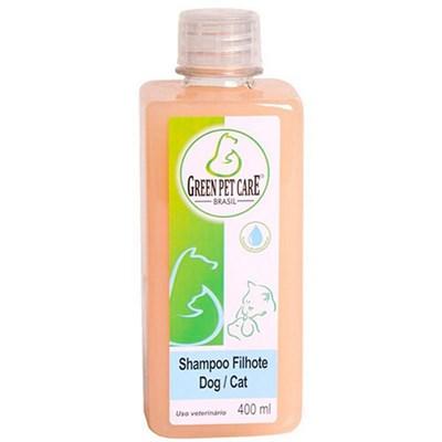 Shampoo Green Pet Filhote para Cães e Gatos 400ml