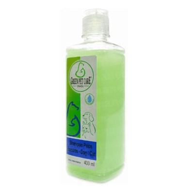 Shampoo Green Pet Pelos Escuros para Cães e Gatos 400ml