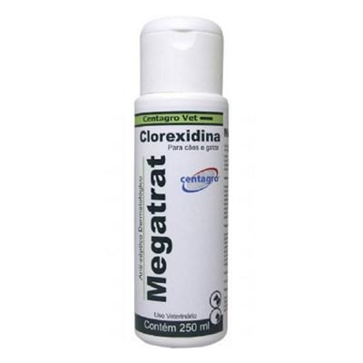 Shampoo Megatrat Clorexidina Antiséptico Dermatológico 250ml