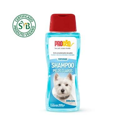 Shampoo Procão Vegano para Cães Pelos Claros 500ml