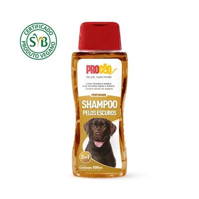 Shampoo Procão Vegano para Cães Pelos Escuros 500ml