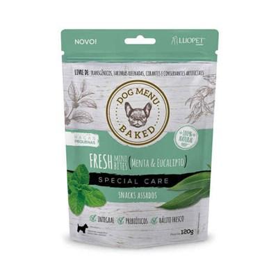 Snacks Fresh para Cães Adultos de Raças Pequenas Luopet 120gr