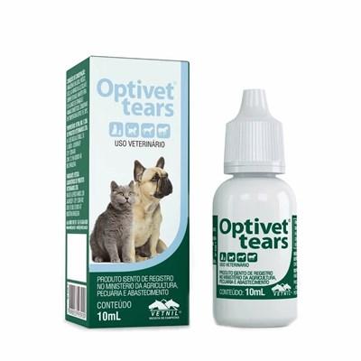 Solução Optivet Tears para Cães e Gatos 10ml