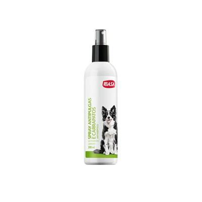 Spray Ibasa Antipulgas e Carrapatos para Cães 200ml