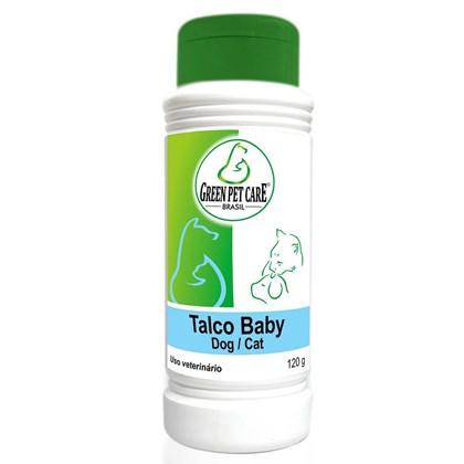 Talco Green Pet para Cães e Gatos Filhotes 120gr