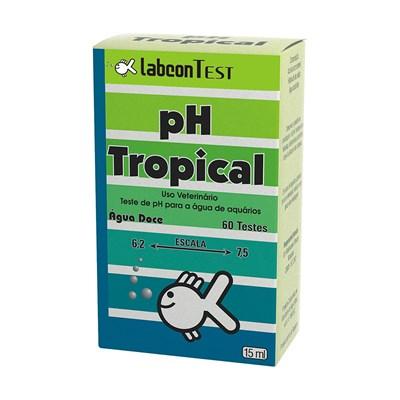 Teste de Ph Tropical Labcon 15ml para Aquários