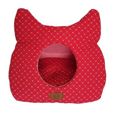 Toca para Gatos Vermelha