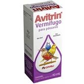 Vermífugo Avitrin para Pássaros 10ml