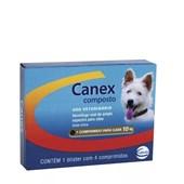 Vermífugo Canex Composto Para Cães com 4 Comprimidos