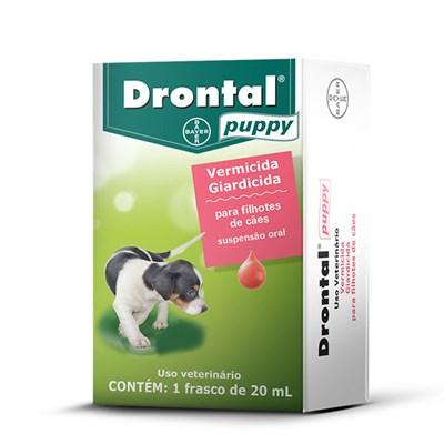 Vermífugo Drontal 20ml para Cães Filhotes