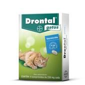 Vermífugo Drontal para Gatos 4 Comprimidos