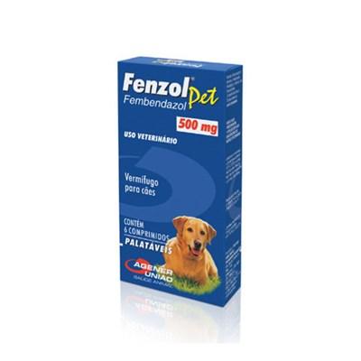 Vermífugo Fenzol para Cães 500mg