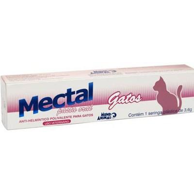 Vermífugo Mectal Pasta para Gatos 3,6gr