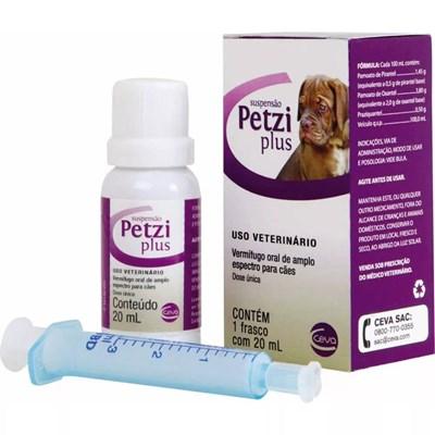 Vermífugo Petzi Suspensão para Cães 20ml